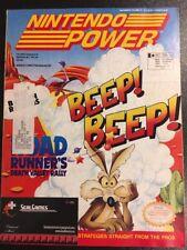 Nintendo Power Vol Volume 43 Road Runner Death Valley Batman Returns With Poster