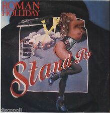 "ROMAN HOLLIDAY - Stand by - VINYL 7"" 45 ITALY 1983 NEAR MINT COVER VG+ CONDITION"
