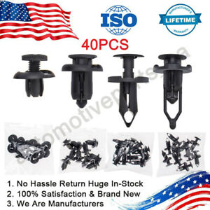 Front Car Retainer Clips & Plastic Fasteners Kit 21030249 52161020 91503-SZ3-003