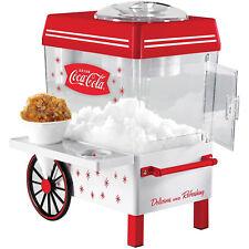 Coca Cola Snow Cone Maker Red Counter Top Slushies Shaved Ice Machine Kitchen