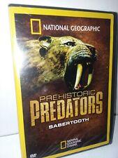 Prehistoric Predators Sabertooth National Geographic 2008 (DVD) NEW