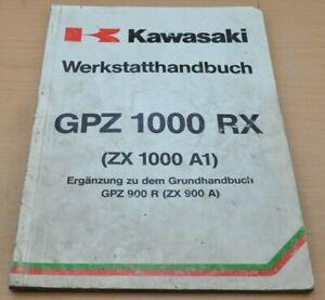 Kawasaki GPZ 1000 RX ZX A Motor Bremsen Elektrik Kupplung Werkstatthandbuch 1985