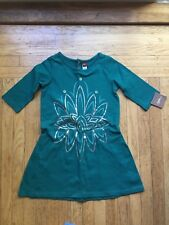 Tea Collection Green dress size 7 NWT
