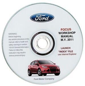 Ford Focus My 2011 Manual de Taller Workshop Manual