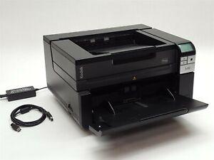 Kodak i2900 USB 3.0 Duplex Flatbed Color BW Document Scanner Scan Count:428