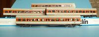 Märklin 4183,4184 2x,4185 Konvolut 4x S-Bahnwagen DB Epoche 4/5 Mit Licht in OVP