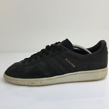Adidas Munchen Black Suede Sports Trainer Sneakers DB0666 Men Size UK 10 Eur 44