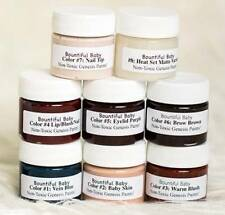 Reborn Doll Kit - Genesis Heat Set Paints - Eight 1/2 oz Jars 6724