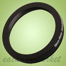 58mm to 49mm 58-49mm 58mm-49mm 58-49 mm Step Down Lens Filter Ring Adapter UK