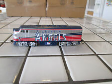 bachmann hawthorne village Anaheim Angels powered engine Ho scale