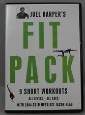 Joel's Harper's Fit Pack: 9 Short Workouts (DVD, 2006) Very Good Condition