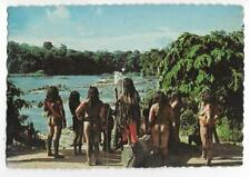 AMERINDIANS OF THE WAYANA TRIBE LIVING BY THE TAPANAHONY RIVER~SURINAME,S.A.1968