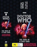 New & Sealed Doctor Who The Trial Of A Time Lord Box set 4 DVD Set Colin Baker