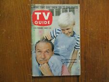 GALE GORDON/JAY NORTH Signed Aug-1962 TV Guide(w/CLINT WALKER/DENNIS THE MENACE)