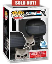 Funko Pop SNAKE EYES WITH TIMBER - GI JOE #78 Exclusive 🔥 SOLD OUT 🔥 PREORDER