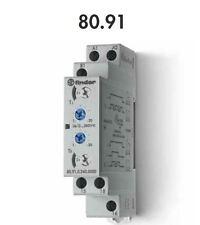 FINDER 80.91.0.240.0000 TEMPORIZZATORE MODULARE 16A - 250 V - 12...240V AC/DC