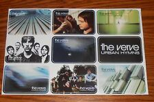 The Verve Urban Hymns Stickers Sheet Decal Rectangle Promo 9x6