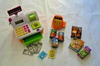 Toy Chip n Pin Till Cash Register Shopping Working Calculator From Casdon