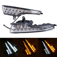 LED DRL Daytime Running Light Lamp Fog Lamps for 2014-2017 Nissan Teana Altima