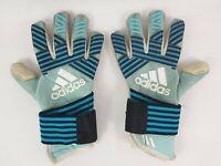 Adidas Goalkeeper Gloves Ace Trans Pro *Size 9* Turquoise