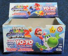 2011 Nintendo Super Mario Galaxy Sweet Spin YoYo Bites Display Box Only No Candy
