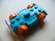 Lego base voiture racer turquoise set 4568 /  Racer Base with Wheels and bumpers