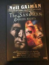 THE SANDMAN ENDLESS NIGHTS HARD COVER BY NEIL GAIMAN VF TO NM 1 LOT