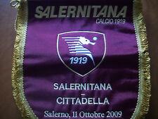 gagliardetti ricamati da partita dell salernitana match worn pennant embroidered
