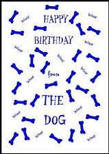 Novità Buon Compleanno Biglietto D'Auguri dal cane - 3B-Own Design