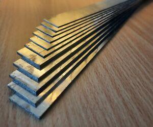Letterpress Lead – 2p (6 pieces), 6p (5 pieces) 40cm long