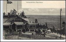 HOLMENKOLLEN Oslo Norge Norway Norwegen Brevkort 1900/10 Holmenkollens Sportstue