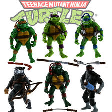 TMNT Teenage Mutant Ninja Turtles 6PCS Action Figure Anime Movie Toy Xmas Gift