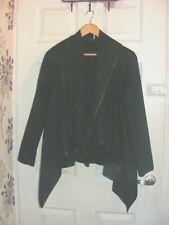ladies defania black coat,size medium,gothic style,smart