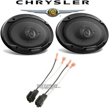 """Kenwood 6.5/"""" Rear Factory Speaker Replacement Kit For 2003-2008 Toyota Corolla"""