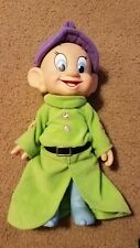 "DISNEY STORE WHISTLING DOPEY 10"" DOLL"
