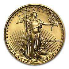 1988 1/4 oz Gold American Eagle BU (MCMLXXXVIII) - SKU #4707