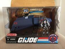 GI Joe 25th Sealed Box Blue HISS Tank Commander Viper Attack On Cobra Island
