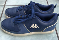 Retro, Classic,  Kappa Blue Trainers / Sneakers, Size UK 7. 80's 90's.