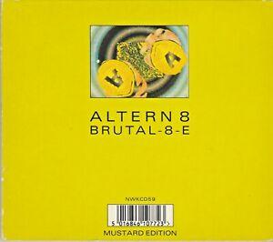 Altern 8 – Brutal-8-E / Evapor-8 (Mustard Edition) 4 Track CD Single NETWORK