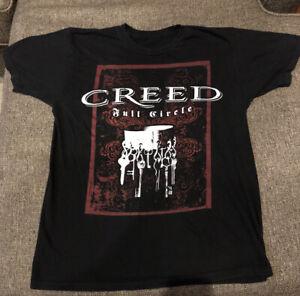 Vintage Original CREED Full Circle 2009 Concert Tour T-Shirt - Super Soft - Rare