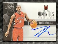 🔥2012-13 Panini Momentum Terrence Ross Momentous Rookie RC Auto Slam Dunk🏆