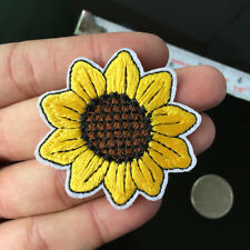 Bright Sunflower Patch Napoleone Patch  Sewing Flower DIY Iron on Applique