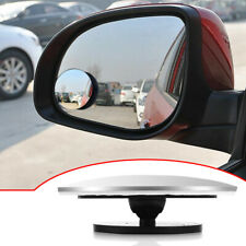 Car Rear View Mirror 360° Rotating Wide Angle Convex Blind Spot Accessories X1