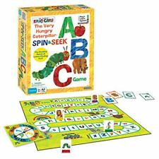 Eric Carle Briarpatch The Very Hungry Caterpillar Spin & Seek ABC Game