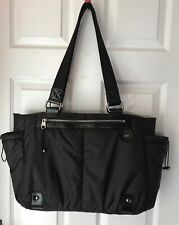 12a7c7b2b84c UGG Snowbyrd Bag Large   Nylon Black  Can Be Used As Sports Or Travel