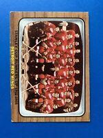 Detroit Red Wings 1966-67 Topps Vintage Hockey Team Card #119