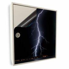 Stromkasten Magnet Bild Deko Stromverteiler Sicherungskasten Motiv 01 Blitz