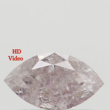 0.46 Ct Natural Loose Diamond Marquise Light Pink Color 6.90 MM L7933 BKK