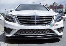 Carbon Fiber Front Lip Spoiler For Mercedes Benz W222 S63 New S-class AF-0458