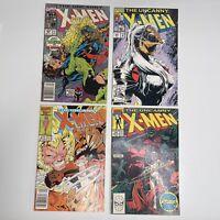 The Uncanny X-Men #290 VF/NM & #213, 265, & 269 MARVEL Comic Book X-Men LOT OF 4
